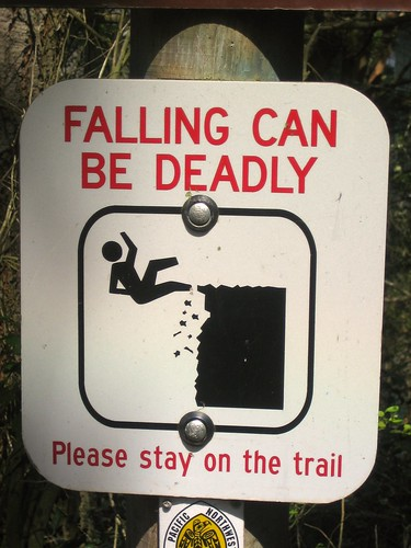 falling sign