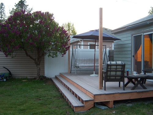 Deck finished(ish)