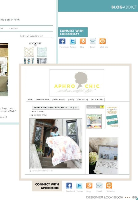 AphroChic in Home Furnishings Business Magazine