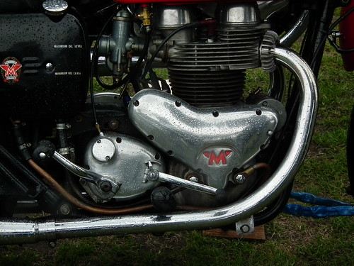 Matchless 650 Twin engine by kenjonbro