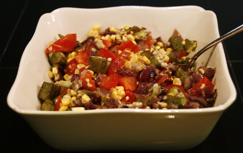 photo 5- okra salad