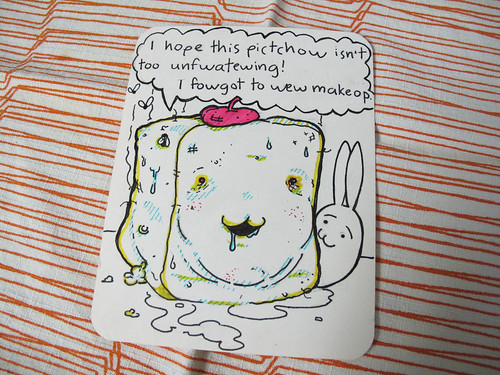 Unflattering Portrait of Tofu Baby by the Rev. Aitor 2