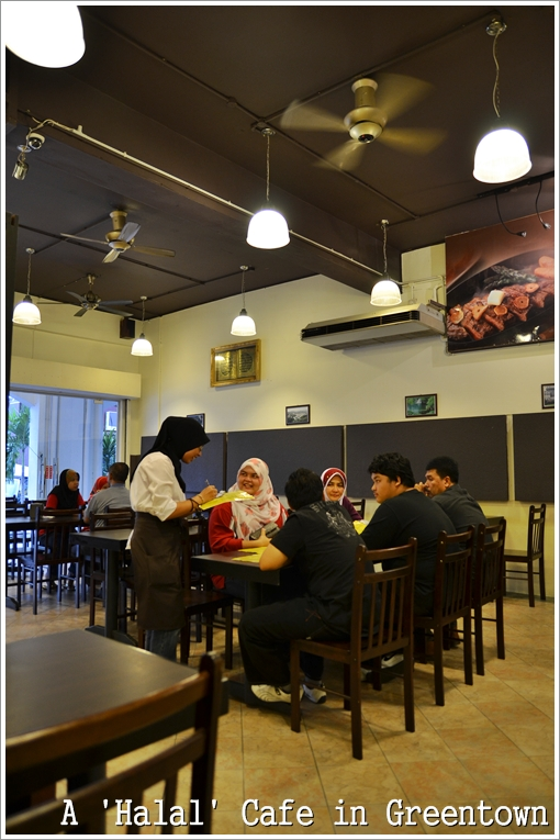 Halal Cafe in Greentown Ipoh