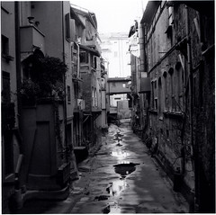 how does it make you feel (bologna 11) (juri_kid_a) Tags: blackandwhite bw italy 120 6x6 film mediumformat blackwhite italia boulogne sunday bn squareformat bologna analogue filmcamera february yashica bianconero biancoenero analogica emiliaromagna domenica febbraio 2014 pellicola analogico rullino medioformato vision:outdoor=0891 vision:street=0905