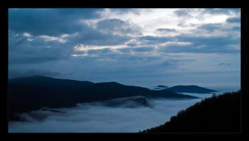 Shenandoah in clouds