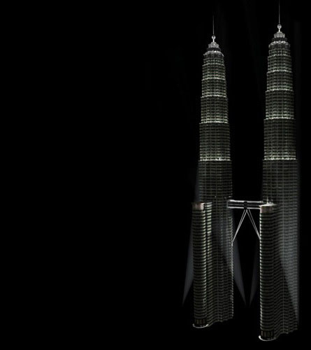 "Petronas Towers - Render • <a style=""font-size:0.8em;"" href=""http://www.flickr.com/photos/30735181@N00/2295417271/"" target=""_blank"">View on Flickr</a>"