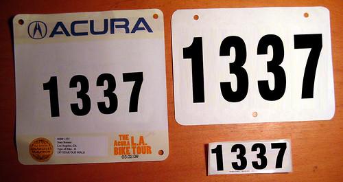 Acura La Bike Tour