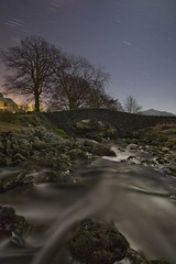 IMG_9462 raw edit (night photographer) Tags: bridge lake motion blur tree night river photography star long exposure district pass trails cumbria ambleside wrynose