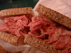 Corned Beef Sandwich @ the Blarney Stone, Midtown NYC