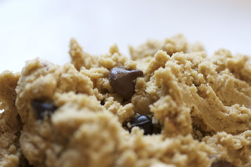 Peanut Butter Chocolate Chip Dough
