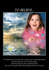 Believe (Pawns) Tags: texture girl manip edit blend lilys