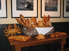 Sourdough bread at the Boudin Bakery