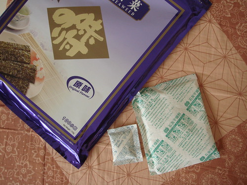 Family-Size Seaweed & Family-Size Desiccant