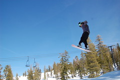 Airborne (ghost.in.the.mirror) Tags: snowboarding jump air boreal