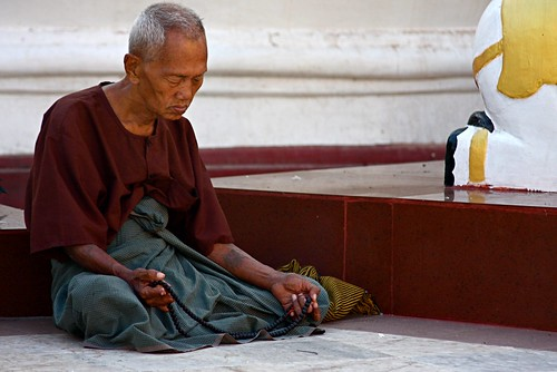 Meditation At The Shwedagon