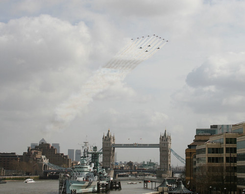 RAF Flypast over London