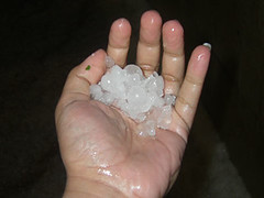 Hail Storm in Kuwait-April 11, 2008