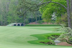 Amen Corner and Hogan's Bridge (heyitsmatt) Tags: golf themasters amencorner augustanational hoganbridge
