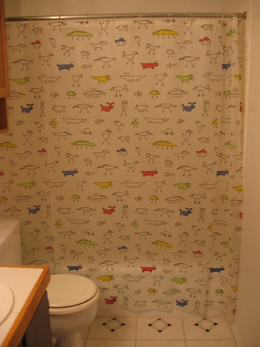 selling john\'s: super nice ikea IGGE shower curtains