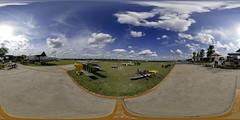 ARCA Warbird Fun Fly (philwarner) Tags: panorama plane austin texas jet 360 remotecontrol 2008 arca scalemodels canon30d sigma10mm warbirdfunfly austinrcorg