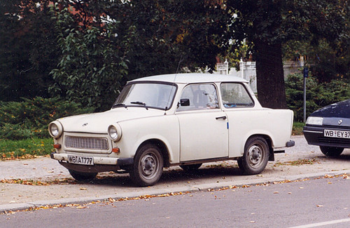 Trabant in Wittenberg