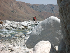 Hiking in Whitewater Canyon Photo