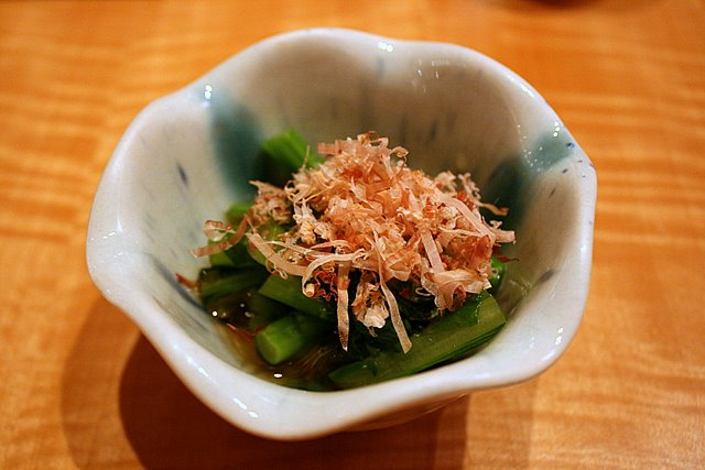 Otoshi - marinated chye sim stems