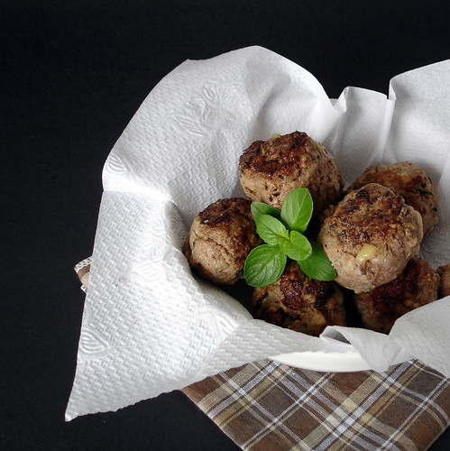 Tyler and Agdah's meatballs