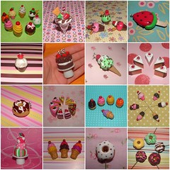 Sweets Charms, Sewing Pins, Magnets and Sculptures! (polymer clay) (yifatiii) Tags: sculpture ceramica cake studio cherry pc strawberry pin candy handmade chocolate cream cellphone sew charm watermelon polymerclay fimo biscuit cupcake icecream donut pistachio sweets icing swarovski etsy magnet wafer waffle popsicle topper layercake kato plastica icelolly premo polyclay arcilla ceramicaplastica pastesintetiche coldporcelain polimerica prosculpt arcillapolimerica arcillaspolimericas arcillaspolimricas porcelanaenfro yifatiii sewingpin porcelanaenfrio dollhoude