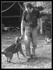 l'amico pi fedele dell'uomo...Bacco (Pash Mani) Tags: friends italy dog cane campagna italians bacco sorrisi bastone
