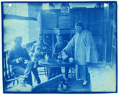 Untitled (Smithsonian Institution) Tags: china blue dog men tea chinese lantern mustache teatime teaparty chinesetea mustaches steampunk smithsonianinstitution colonialism smithsonianinstitutionarchives englishmendrinkingchinesetea
