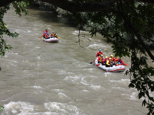 Rafting in River Struma