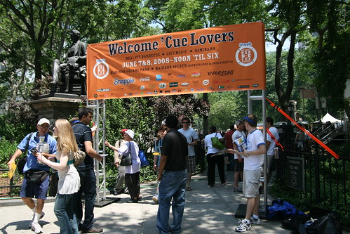 Entrance to Madison Square Park