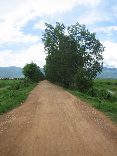 Nicer Road near Inle Lake