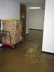 Underground flooding