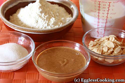 Almond Butter Bread Ingredients
