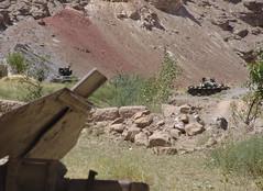 Three dead tanks