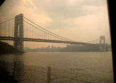 hudson river, gw bridge
