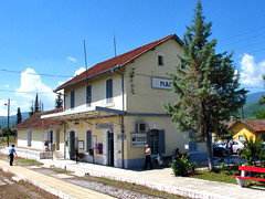 / Naoussa (Dimitris G.) Tags: station train hellas greece ose naoussa