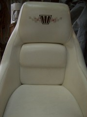 Boat Seat Before (BatzAuto.com Batz Auto Upholstery in Los Angeles) Tags: auto los angeles upholstery batz batzautoupholsteryinlosangeles autoupholsteryinlosangeles batzautoupholstery batzautocom miguelbatz