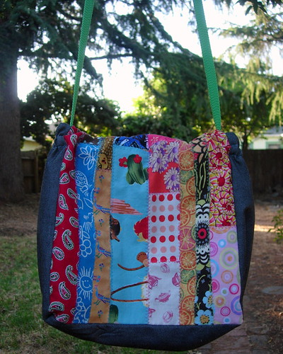Patchwork Lunch Bag - Back