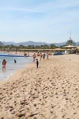 Naama Bay Beach (LouiseAL) Tags: beach strand redsea egypt sinai egypten rdehavet naamabay gypten sharmelshekih