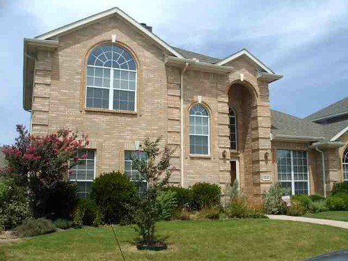 Our House on Landsford Drive, Allen, Texas USA