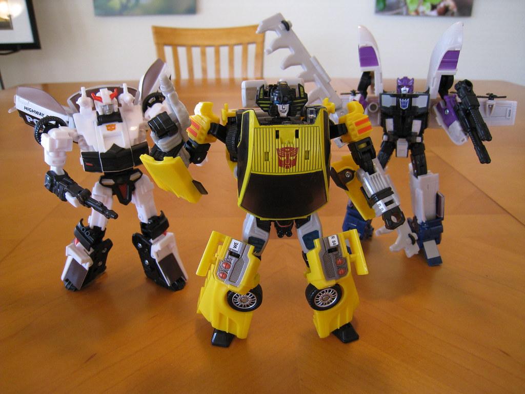 Transformers Classics 2.0 - Robot modes