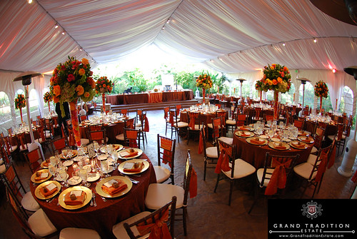 Arbor Terrace Wedding Reception Tent at the Grand Tradition Estate near