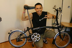 Me with new S-type Brompton