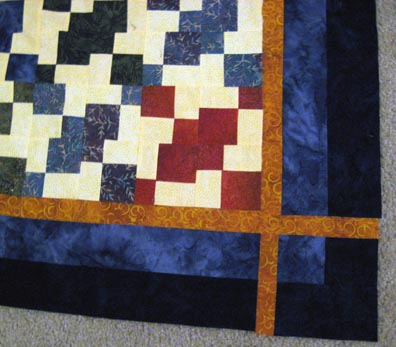 The borders - not attached to the quilt yet