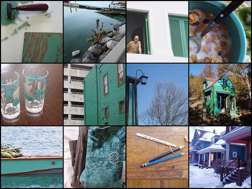 it seems i take lots of pictures of teal things