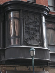 Old hairdressing sign