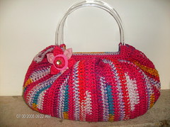 Samba (*ZzabeLinha) Tags: bag crochet purse mala fatbag